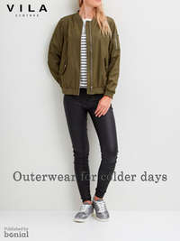 Outerwear for colder days