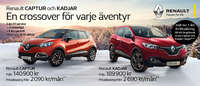 Renault Captur and Kadjar
